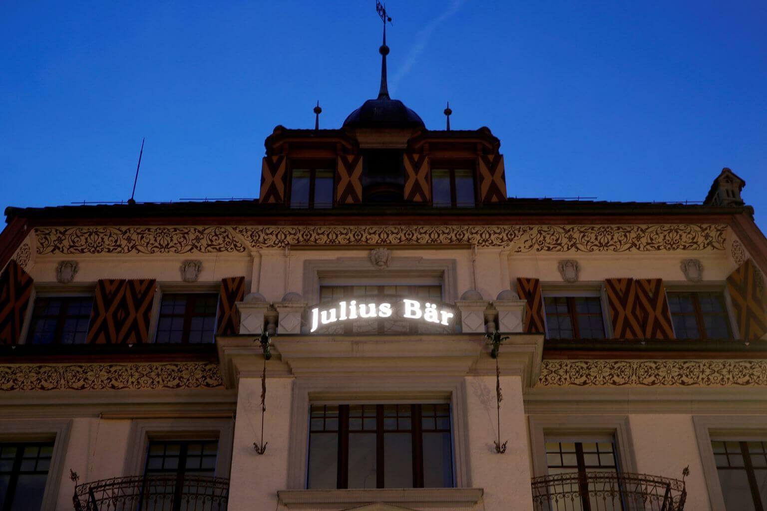 Julius Baer Names Philipp Rickenbacher Ceo To Replace Hodler