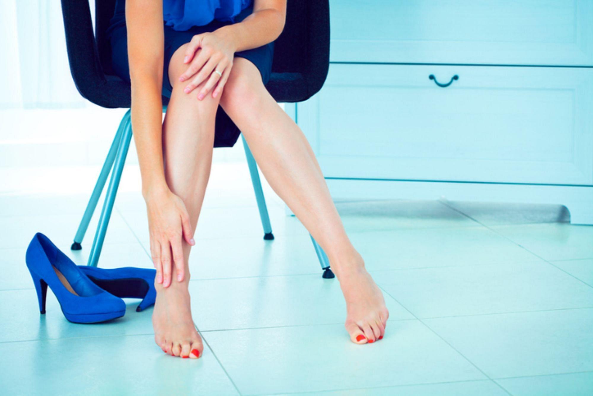 High heels footwear health