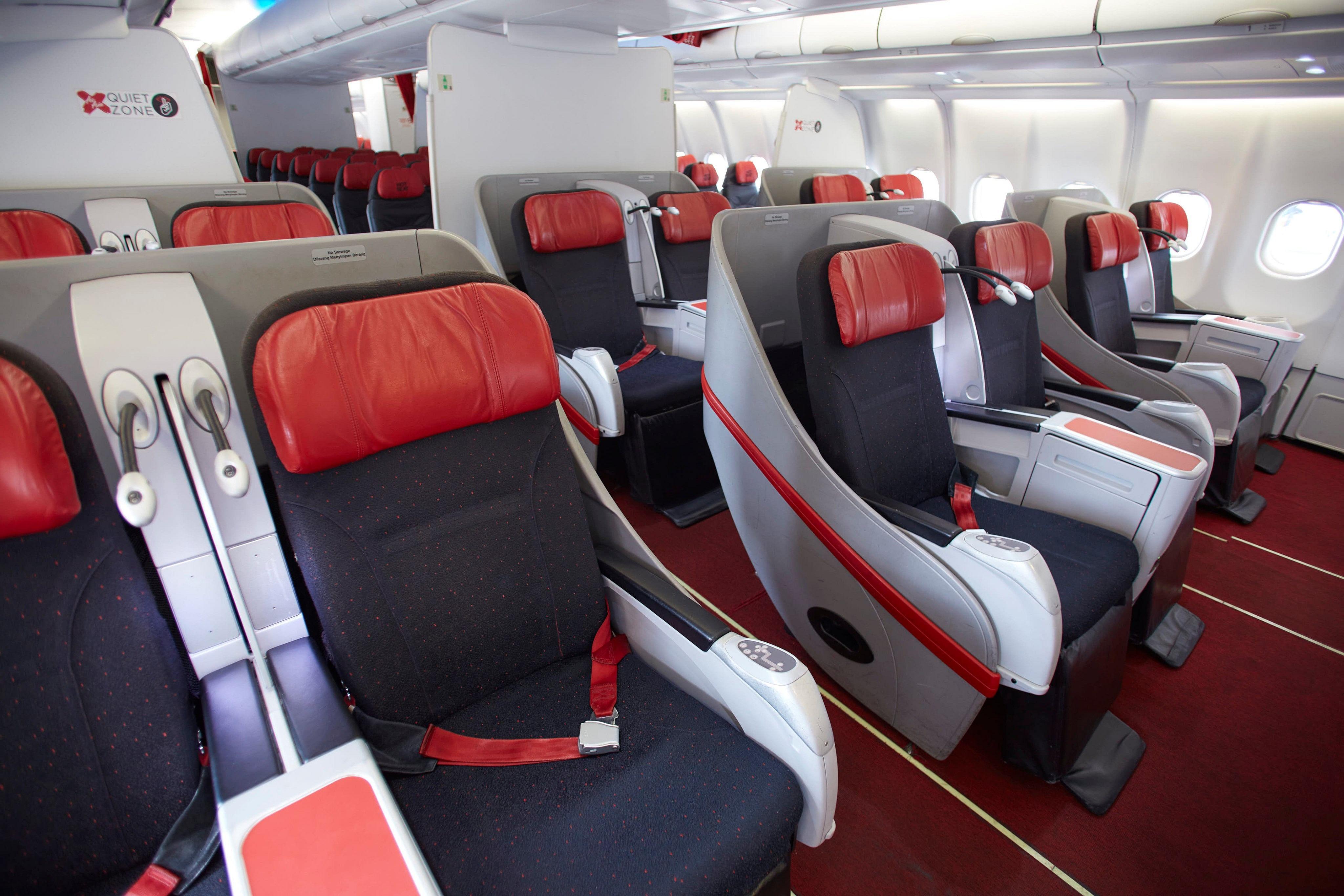 Tukarkan poin AirAsia BIG dengan tiket kelas bisnis AirAsia X