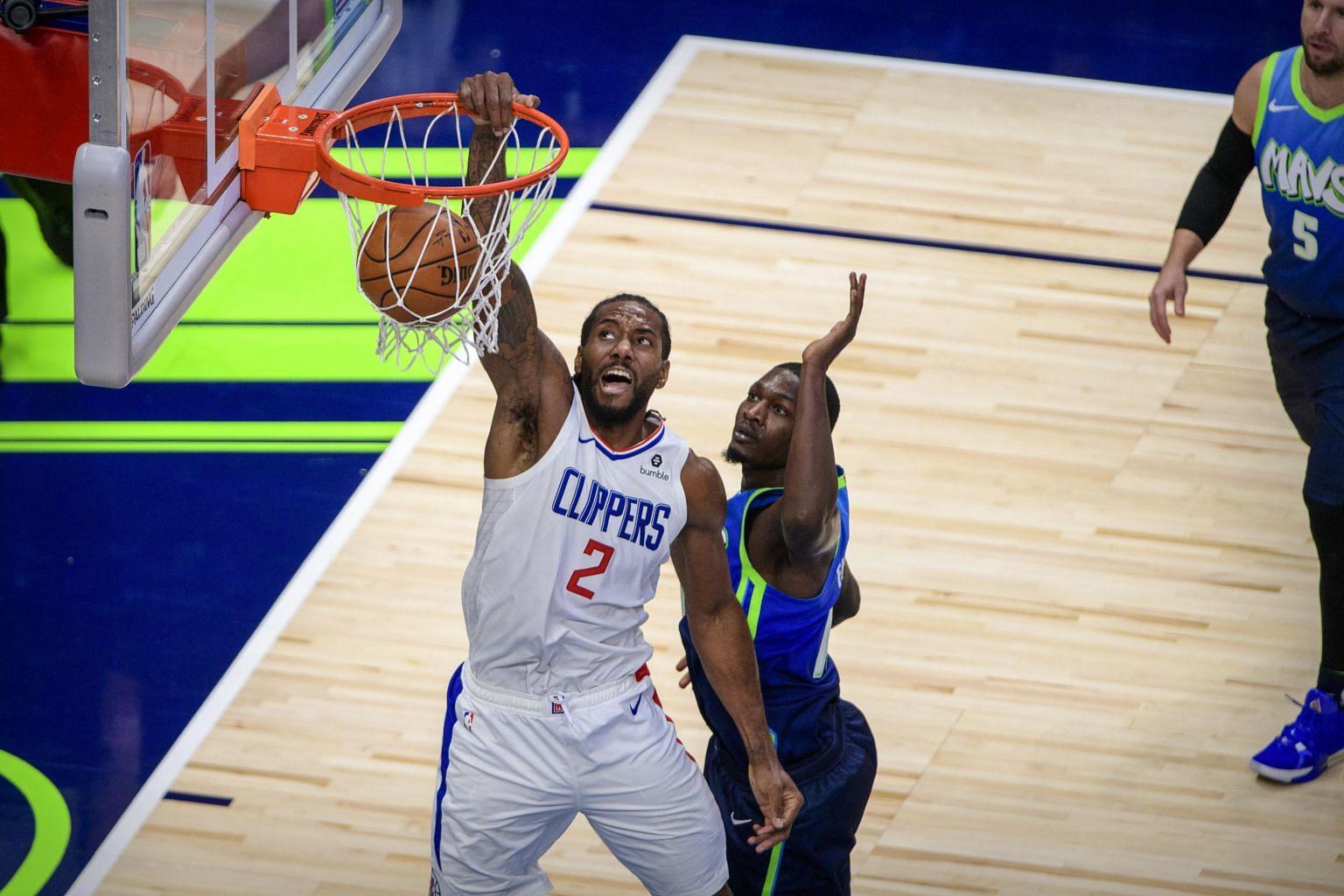 Nba Kawhi Leonard Paul George Lead La Clippers In Win Over