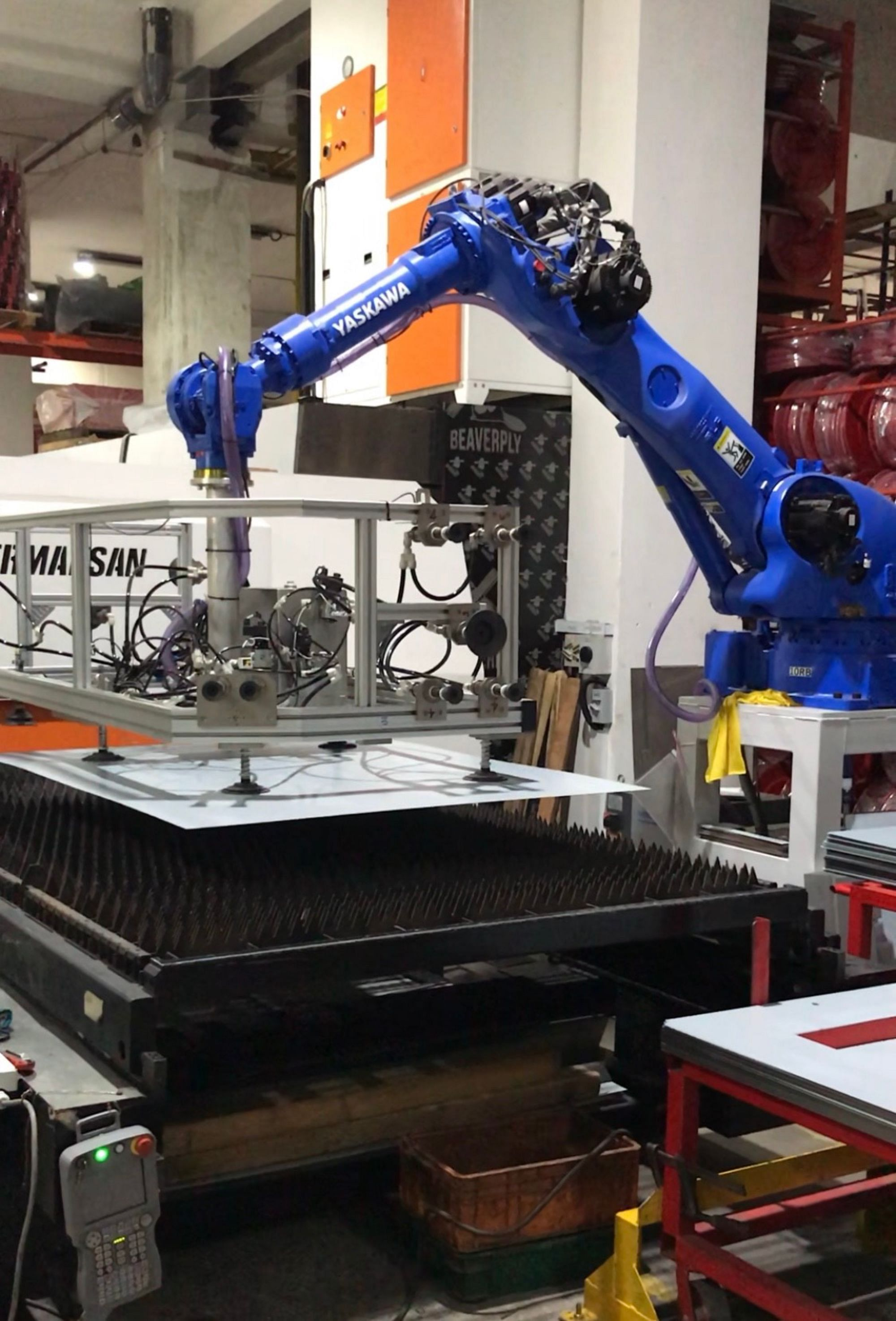 Robotic arms firefighting equipment Lingjack