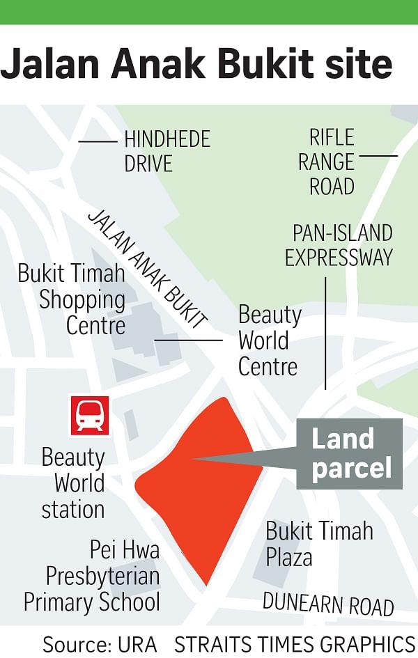 Dual-envelope tender launched for Jalan Anak Bukit site