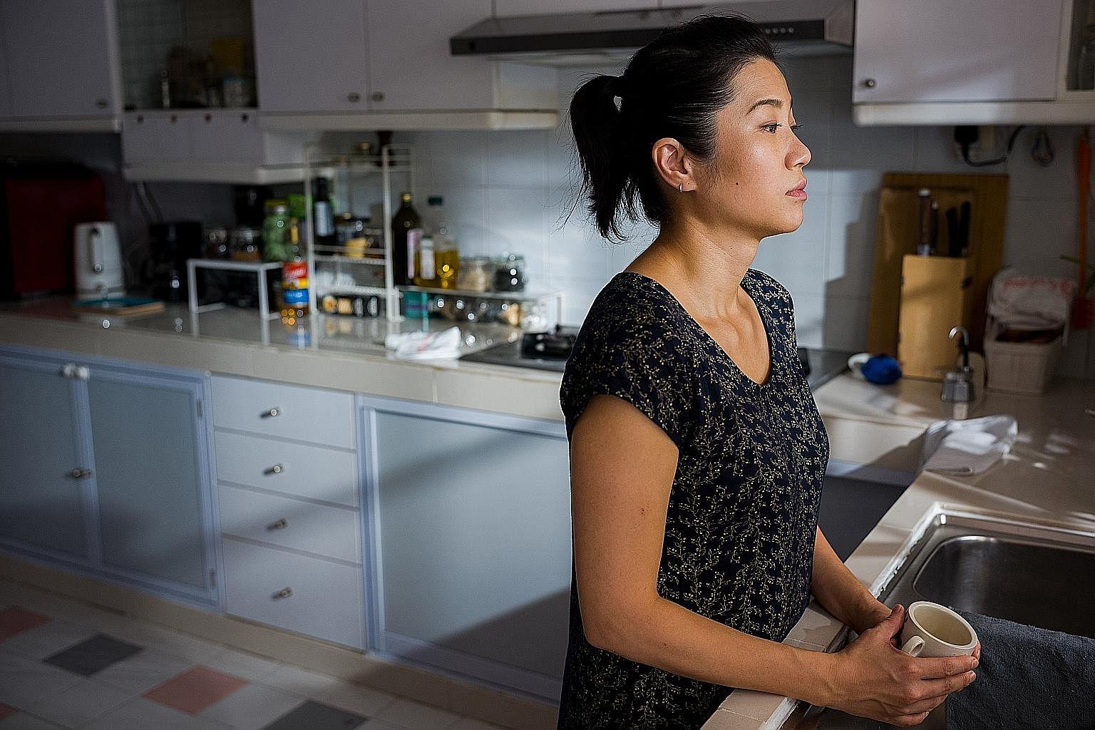 Soprano Akiko Otao, also L'arietta's co-founder and artistic director, singing Kopi For One.