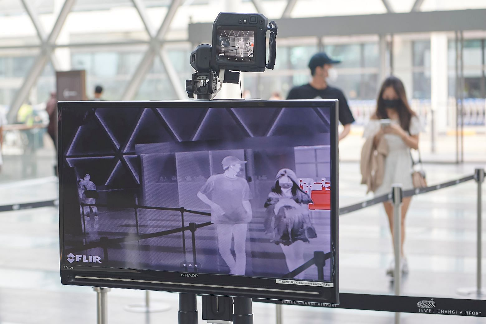 Temperature screening, Jewel Changi Airport, safe management measures