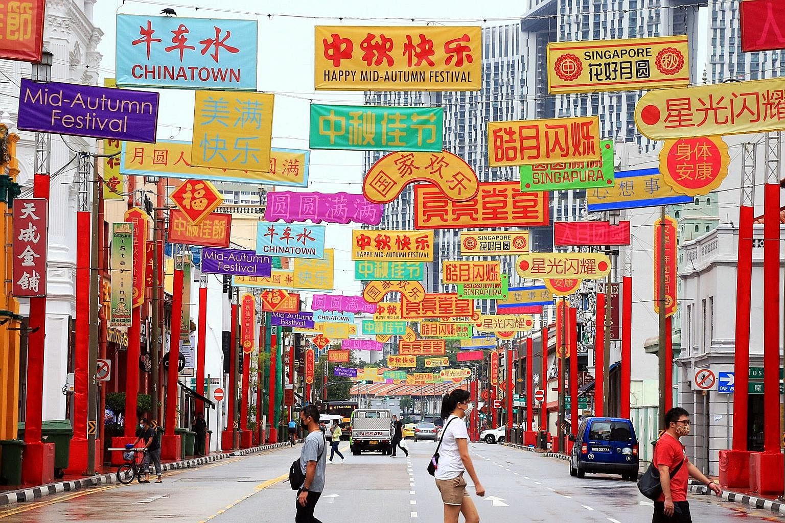 Chinatown Lantern Decorations To Be Replaced Singapore News Top Stories The Straits Times
