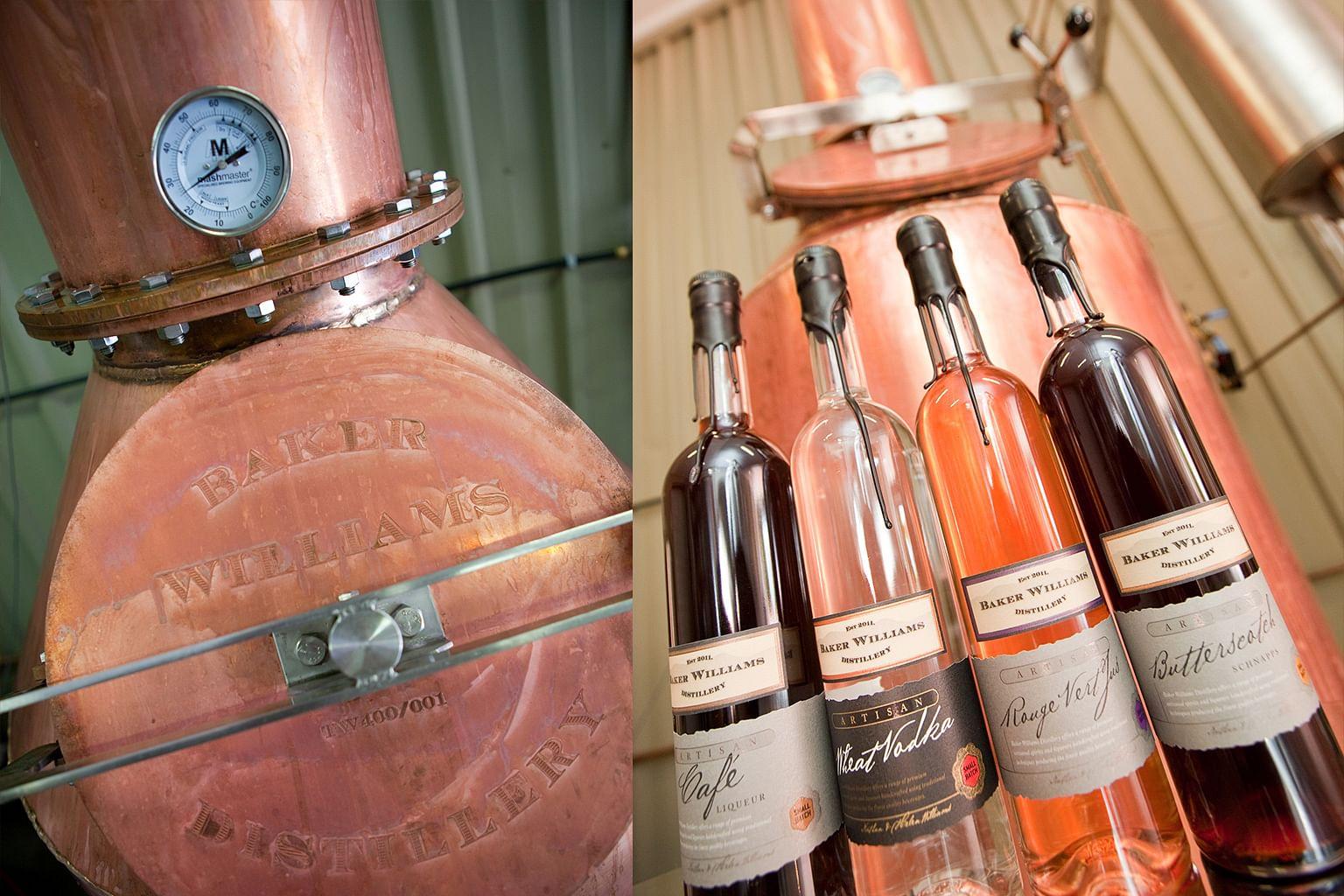 Mudgee, New South Wales, Australia, Wine, Baker Williams Distillery
