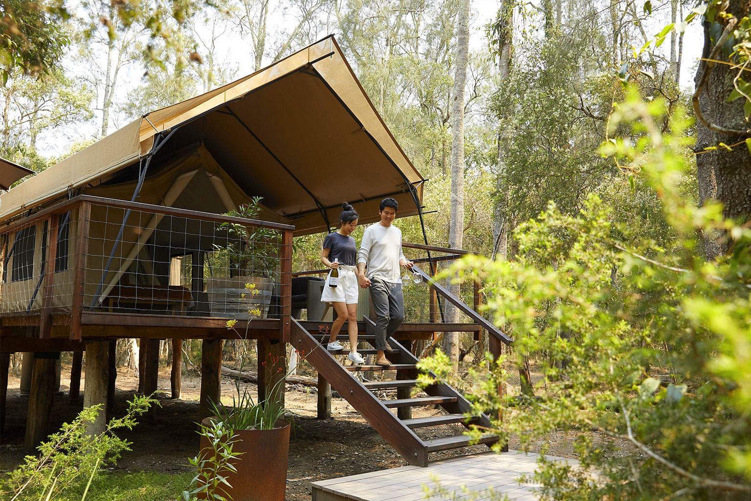 Shoalhaven Coast, New South Wales, Australia, Wine, Paperbark Camp