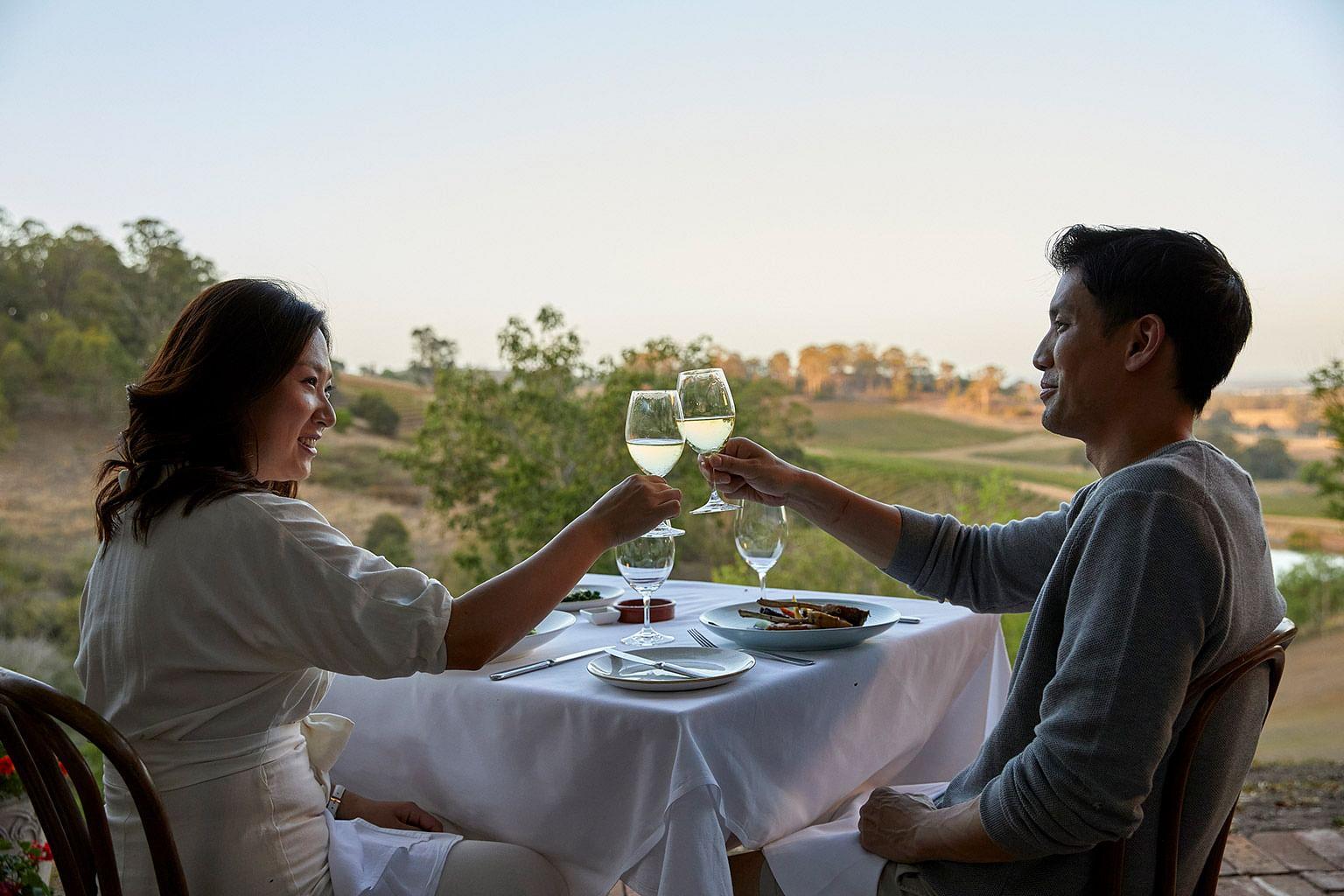Hunter Valley, New South Wales, Australia, Wine, Bistro Molines