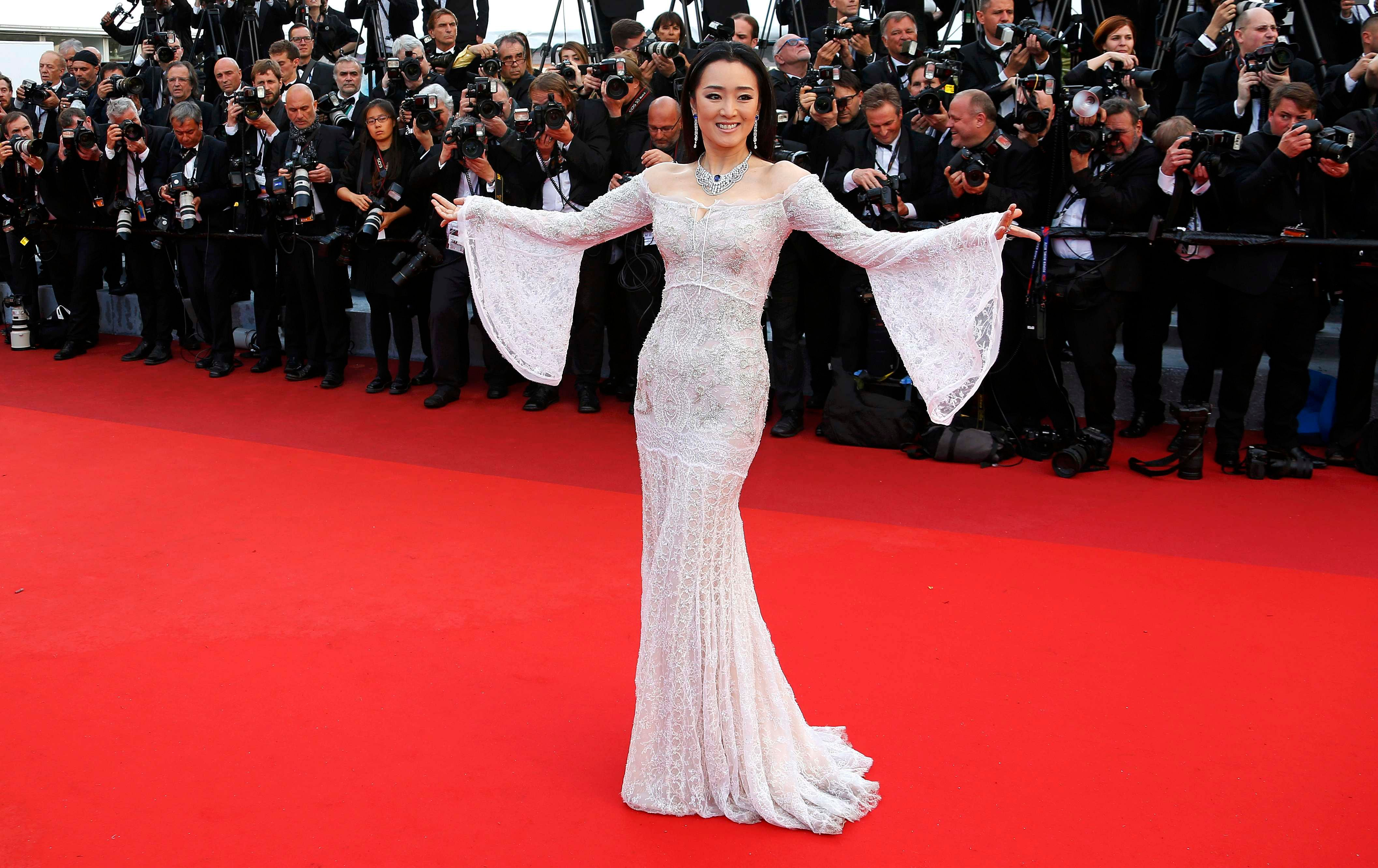 Gong Li Photos Photos - Cafe Society & Opening Gala