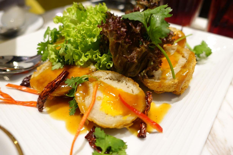 Son In Law Eggs From Pepper Jade A Thai Vegetarian Restaurant At Sunshine Plaza St Photo Tan Hsueh Yun