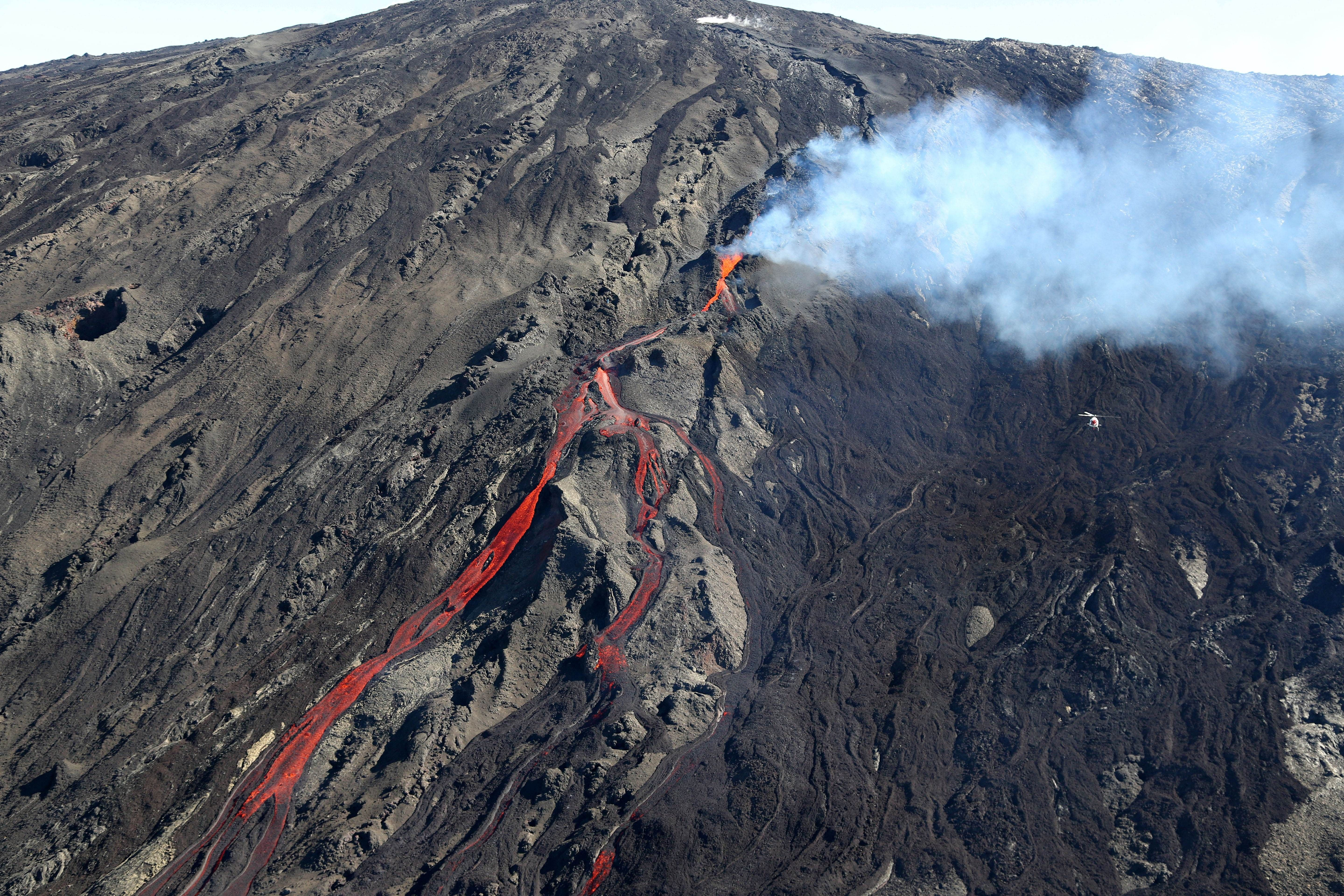 Explore Beaches Of Reunion Island And Its Active Volcanoes