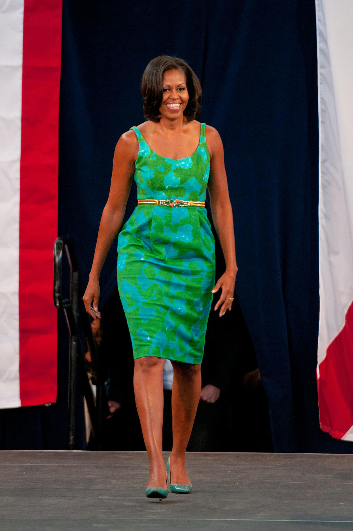 First lady of fashion:...