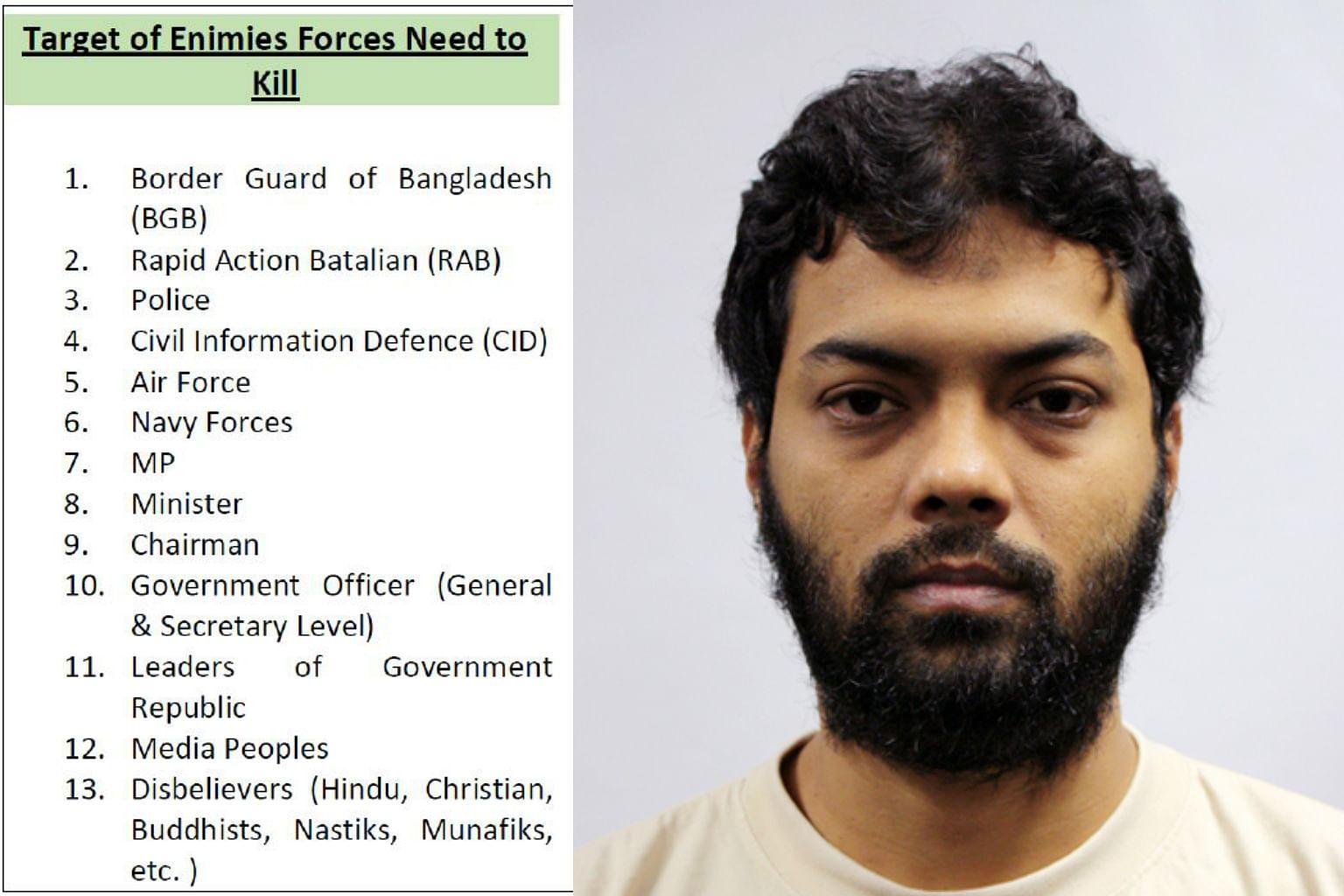 8 Bangladeshi men detained under Singapore's ISA for