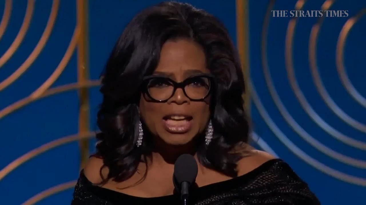 09eeee108d1 Oprah for US president  Golden Globes speech sparks fevered speculation