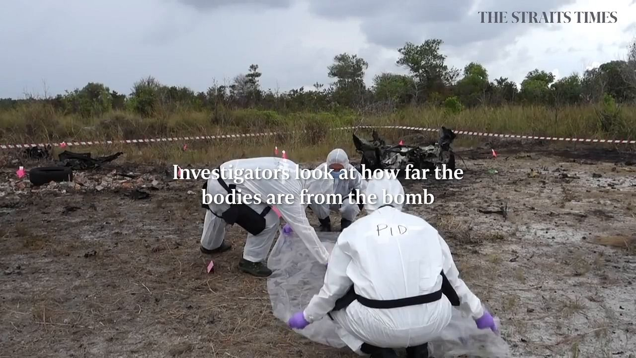 Real bombs detonated for S'pore investigators to hone their skills