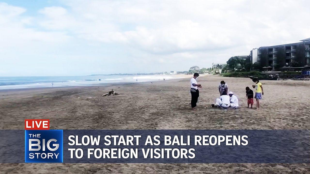 The Big Story: Comienzo lento mientras Bali se reabre a los turistas extranjeros en medio de Covid-19, Multimedia News & Top Stories