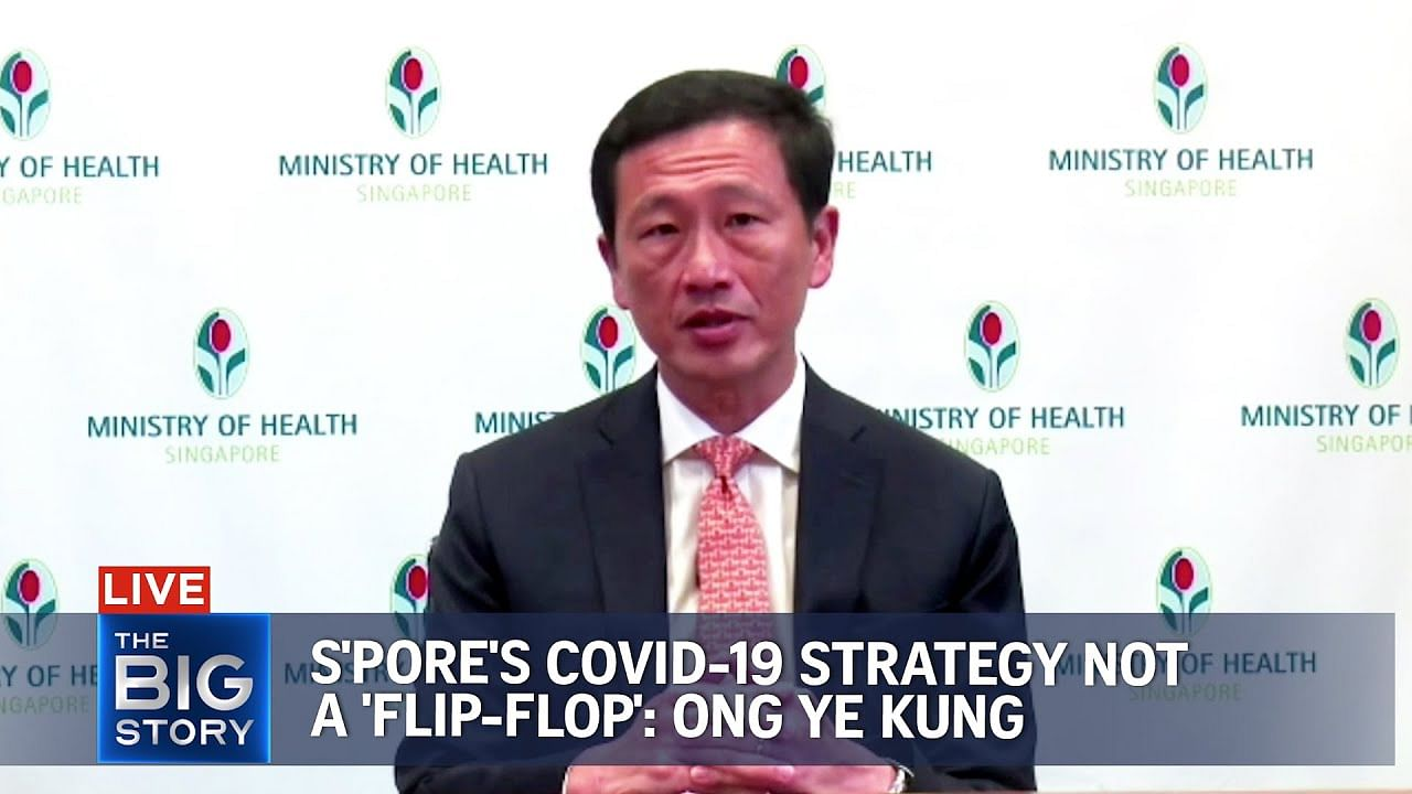 Kisah Besar: Strategi Covid-19 S'pore bukan 'flip-flop', kata Ong Ye Kung, Berita Multimedia & Berita Teratas