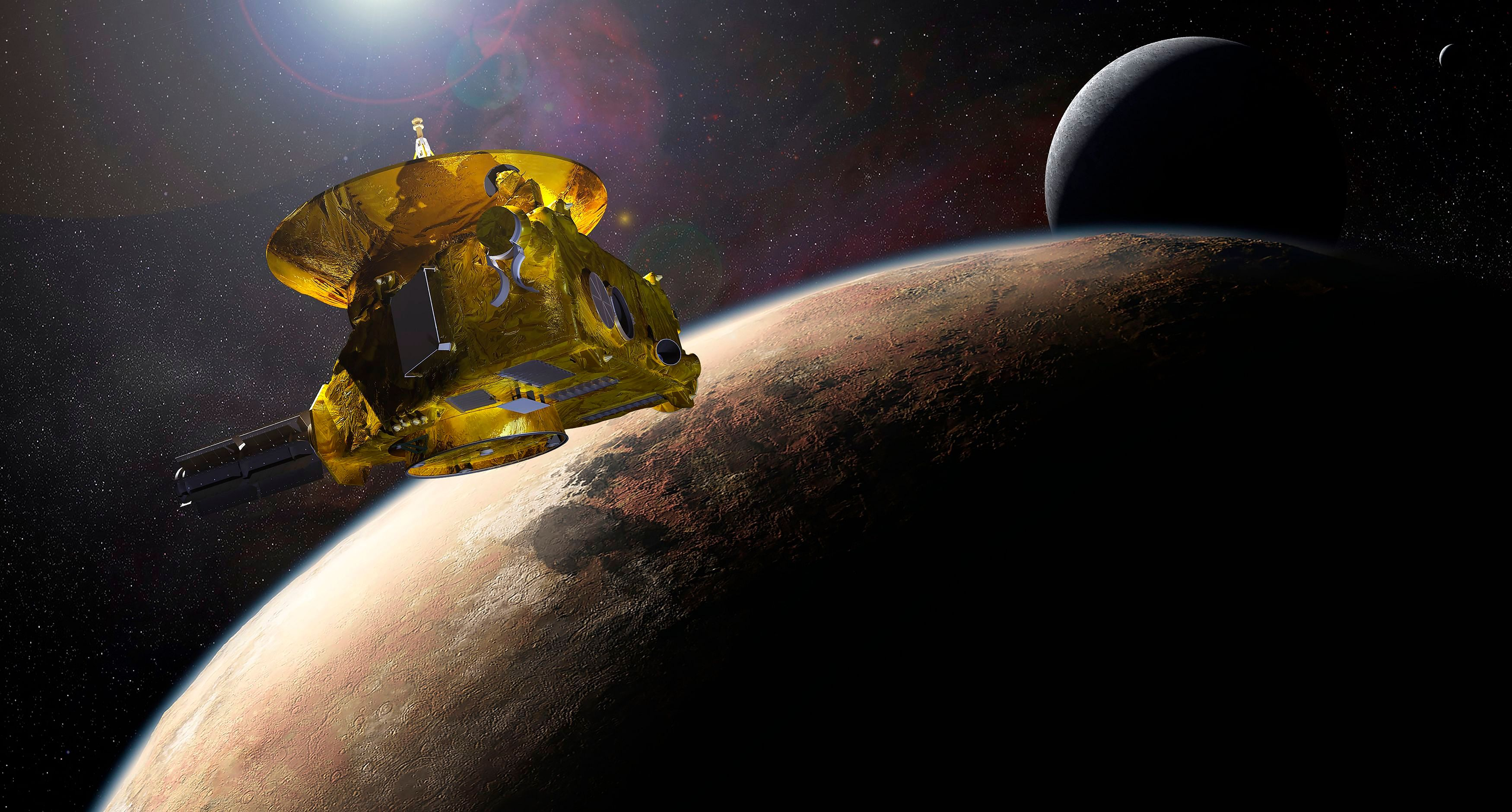 space probe to pluto - HD2048×1099