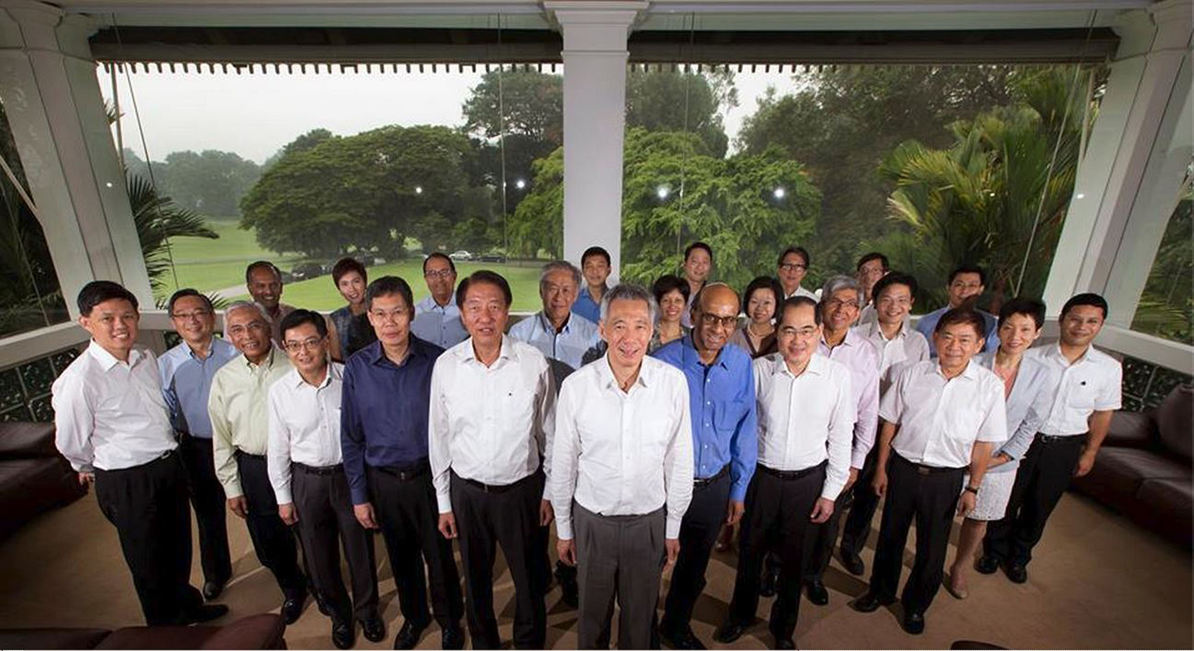 singapore cabinet with 4th generation leaders to be