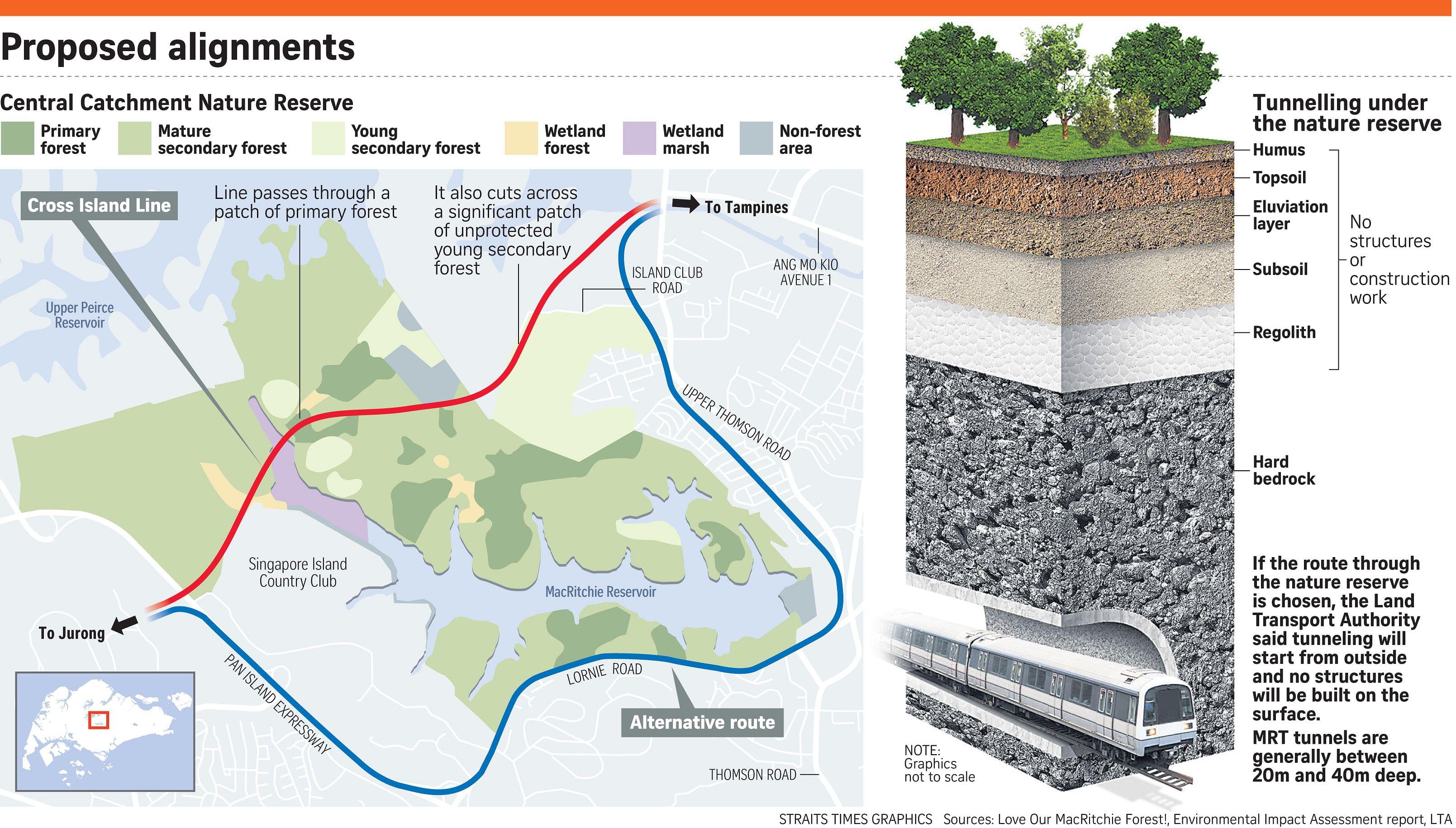 Cross Island Line sparks residents' fears, Transport News ...