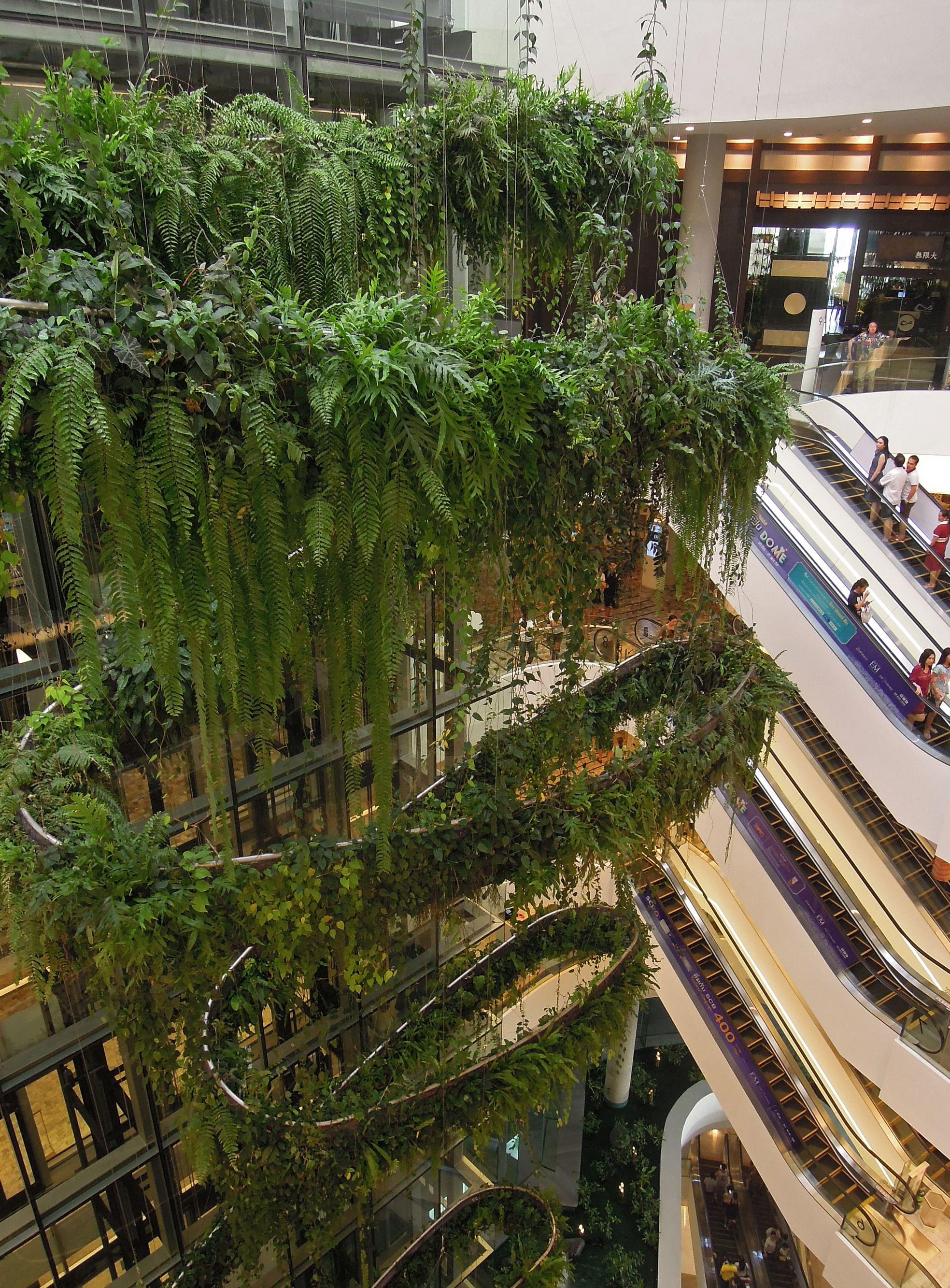 EmQuartier mall in Bangkok Thailand