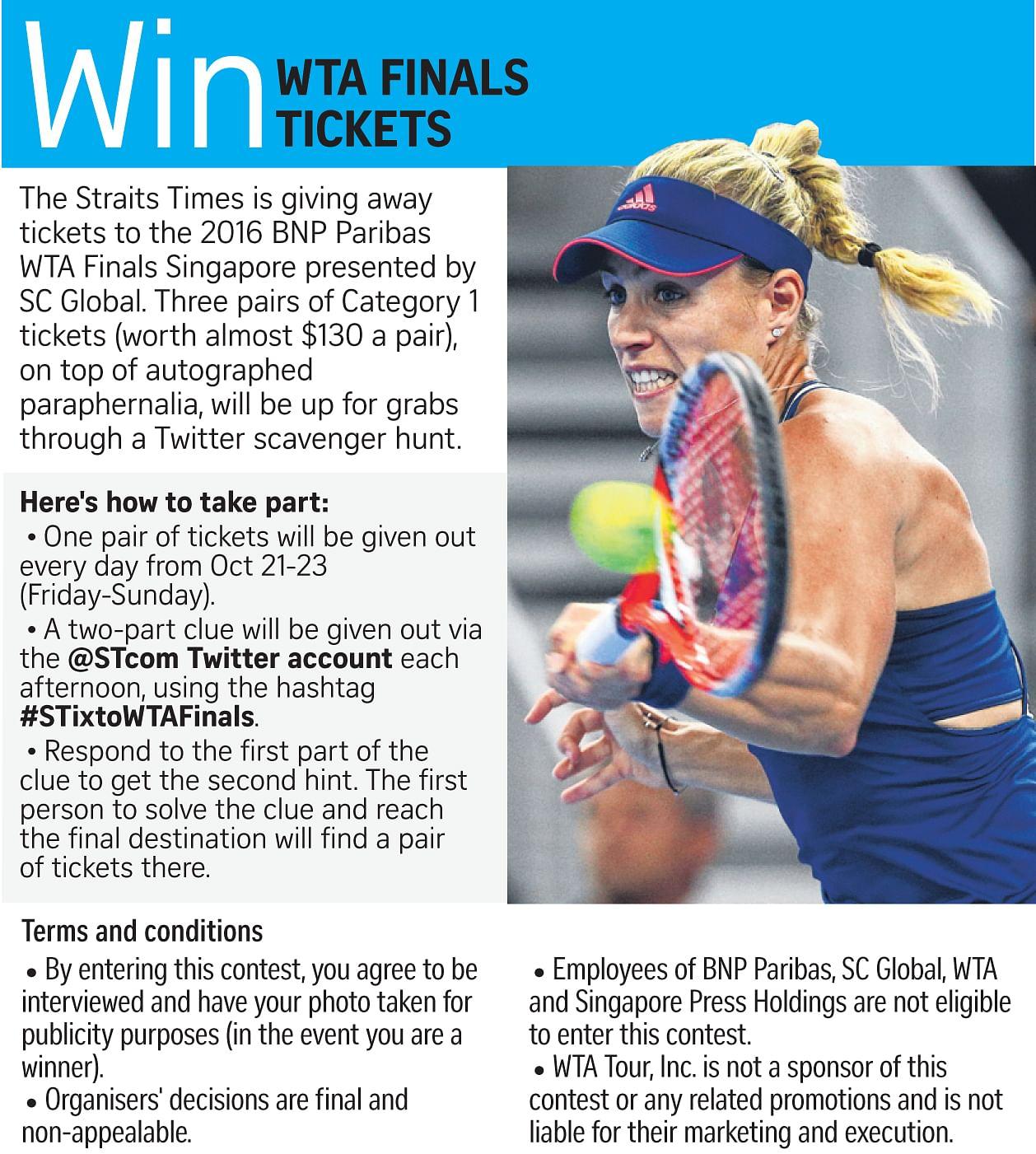 No Serena, so who wins WTA Finals?