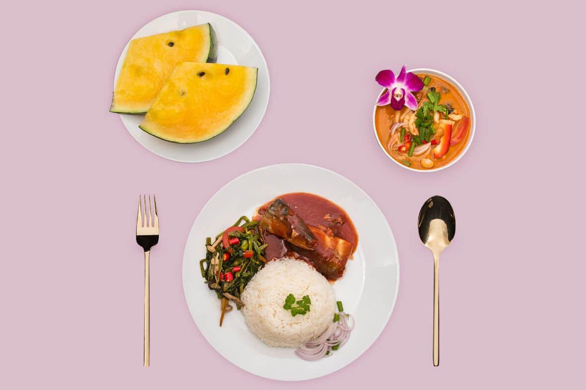 Thai shuttler Ratchanok Intanon's breakfast of champions.