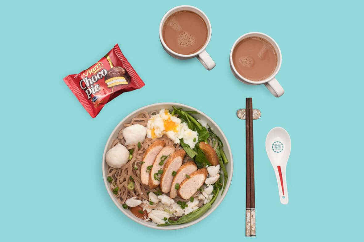 Vietnamese shooter Hoang Xuan Vinh's breakfast of champions.